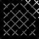 Square Crop Graphic Icon