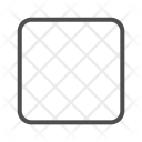 Square Blank Check Icon