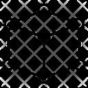 Square Cube Icon