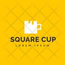 Square Cup Icon
