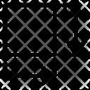 Square Dimension Arrows Icon