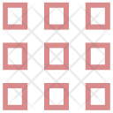 Square Lay outing Icon