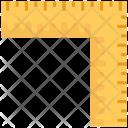 Square Measuring Scale Icon