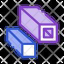 Square Metal Icon