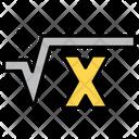 Square Root Icon
