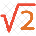 Square Root Two Icon