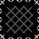 Square Round Corner Mini Icon