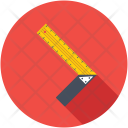 Square Ruler Icon
