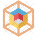 Shape Geometrical Box Icon