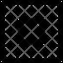 Square Stop Icon