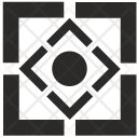 Square Corners Geometry Icon