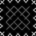 Square Up Arrow Icon