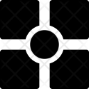 Squares Circle Icon
