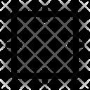 Squares Rectangle Geometry Icon