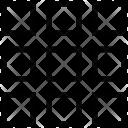 Squares Grid Web Icon