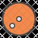 Squash Ball Racket Icon