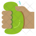 Squeeze Ball Hand Icon