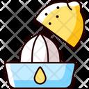 Squeeze Lemon Juice Icon