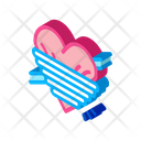 Squeezed Heart Icon
