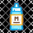 Squeezes Bottle Mayonnaise Icon