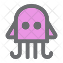 Squid Seafood Octopus Icon