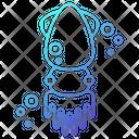 Squid Animal Ocean Icon