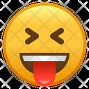 Squinting Face With Tongue Emoji Emoticon Icon