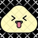 Squinting Tongue Emoji Emoticon Icon