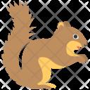 Squirrel Animal Chipmunk Icon