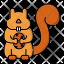 Squirrel Animal Small Animal Icon