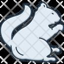 Squirrel Chipmunk Tail Icon