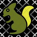 Chipmunk Head Animal Icon