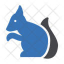 Squirrel Furry Tail Icon