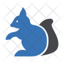 Squirrel Forest Rodent Icon