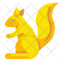 Squirrel Rodent Animal Icon