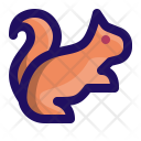 Squirrel Marmot Chipmunk Icon