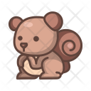 Squirrel Animal Wild Icon