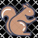 Squirrel Animal Autumn Icon