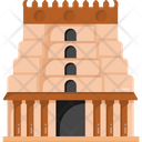 Indian Landmark Indian Temple Indian Shrine Icon