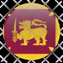 Sri Lanka Country Flag Icon