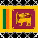 Flag Country Sri Lanka Icon