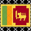 Sri Lanka Country National Icon