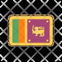 Sri Lanka Flag Country Icon