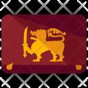 Sri Lanka Flag Icon