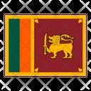Sri Lanka Srilanka Flag Flags Icon