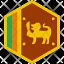 Srilanka Lanka Flag Icon