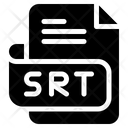 Srt Document File Icon