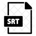 Srt File Icon
