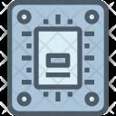 Ssd Processor Chip Icon