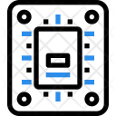 Ssd Circuit Chip Icon